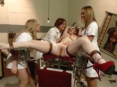 Nurses Of Deceit An all girl gangbang