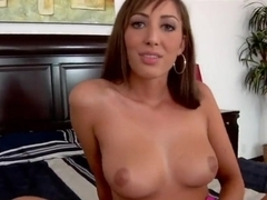 Angelica Saige is caressed by Ramon Nomar