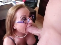 Katja Kassin and Billy Glide fierce office pairing off