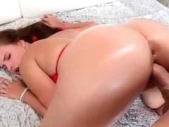 Phat ass Anna Lynn creampied by big dick RRR
