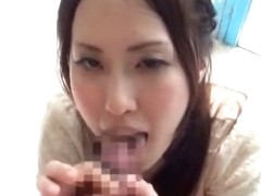 Horny Japanese slut Mika Nanjou, Riko Miyase in Fabulous Handjobs JAV movie