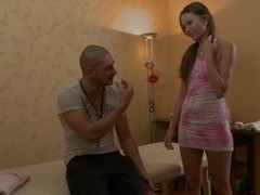 Sweet bimbo gets hardly owned on hot xxx massage clip