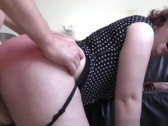 Real bdsm slut gets ass spanked