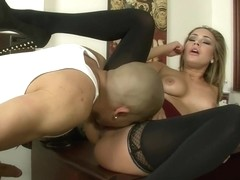 Kennedy Leigh & Bruno Dickemz in Naughty Office