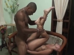 Bella Margo  in a black guy fucks a horny slut in a hotel sex vid