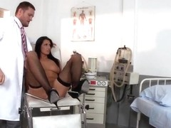 Nice lolita with awesome butt penetrated by her doctor
