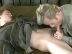 Crazy male in amazing uniform, oldy homosexual xxx movie