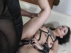 LegalPorno - Natasha Ink BDSM Slut Punished By BBC