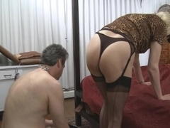 Mistress Z Slaves First Trannie
