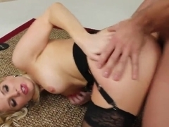 Epic blonde gal Ashley is gonna have some fucking time