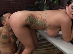 Hottest pornstars Keni Styles, Alison Tyler in Incredible Cunnilingus, Big Ass sex scene