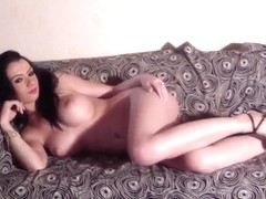 Homemade porn video with remarkable brunette babe Ella