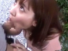 Exotic Japanese girl Yuma Asami in Crazy Blowjob, POV JAV clip