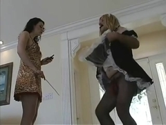 Clubdom Mistress Jean Bardot Is Punishing Her Sissy Slave