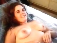 Hubby films his curvy brunette wife with her black lover