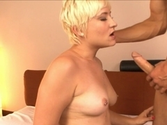 Exotic pornstars Nora Skyy, Chris Strokes in Amazing Small Tits, Cumshots porn clip