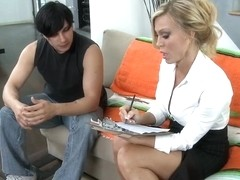 Amber Lynn & Anthony Rosano in My First Sex Teacher