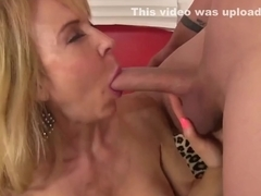www.PornZin.com - lauren is a blonde grandma fucking hot