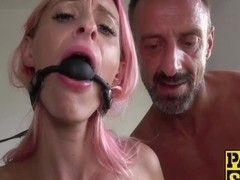 Waxtormented Roxy Lace Eats Cum After Loud Rough Pounding