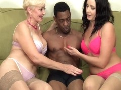 Sweet Alice - Seka And Helena Enjoy Interracial Bbc