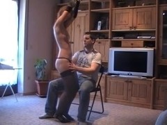 Juvenile Honey Lapdance and engulf off in Nylons