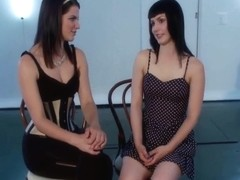 Bdsm - Electricity Experiments With A Beautiful Slave Girl - Katharine Cane And Bobbi Starr
