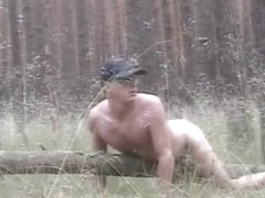 Cum over an old fallen tree
