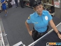 Sexy Police Officer Had My Pistol In Her Mouth
