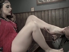 Fabulous fetish sex movie with hottest pornstars Chanel Preston and Mickey Mod from Footworship
