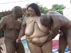 Hawt SSBBW Anastasia Vanderbust Receive Plowed by two BBC