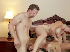 Fabulous pornstars Erik Everhard, Zoey Foxx, Holly West in Horny Threesomes, Big Tits porn clip