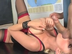 Chris Johnson bangs Katie Kox like never before