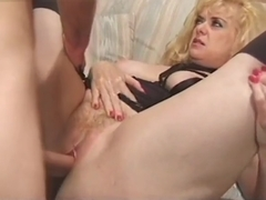 Mature wants a cock in her arsehole