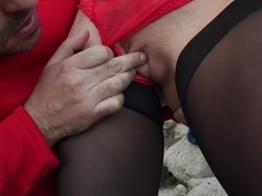 Lana Sweet - Unforgettable Outdoor Sex On The Beach