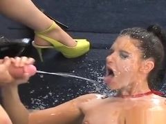 Wicked Kittens Shag The Biggest Belt Cocks And Spray Jizz Al