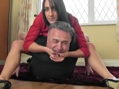 Horny sex movie Foot Fetish crazy uncut