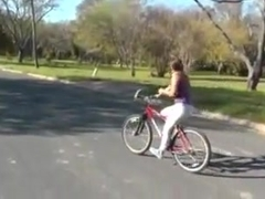 Handjob  Blowjob From Stranger On Bike Ride