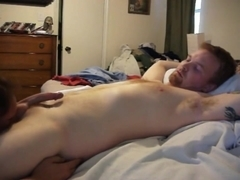 ginger stud loves to be sucked off