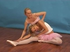 Toy teens ballet exercises