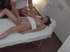 Beautiful MILF Gets a Happy Ending Massage