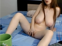 Lucy_big_boobs Stripping Nude and Pussy Play