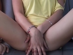 Bella Margo  in naughty amateur couple having sex in their car