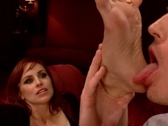 Amazing fetish adult movie with horny pornstars Mona Wales, Bella Rossi and Kip Johnson from Footworship