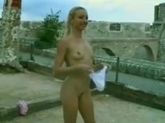 Public Nudity Playing Around 3