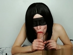Red Lipstick Cumshot Compilation - By Amateur Teen Zefirka_White