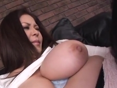 Amazing Asian babe Yuuki Sakurai is a hot milf in sexy stockings