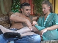 NylonFeetVideos Video: Barbara and Frederic