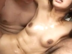 Asami Yoshikawa Pretty Japanese model is fucked in the subway