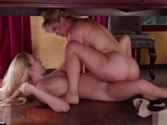 Hot Kenna James Gets Pussy Fingered By Milf Cherie