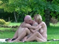 Naked Yoga Laure gets fucked at yoga